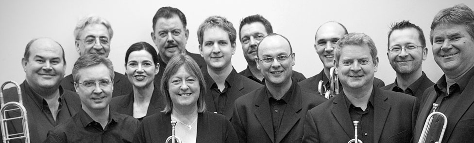 Group shot of The Symphonic Brass of London